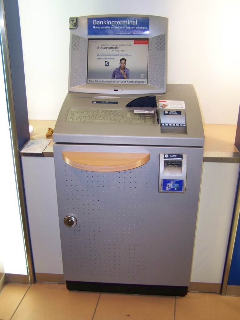 Überweisungsautomat Deutsche Bank